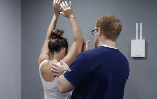cedar rapids shoulder pain assessment